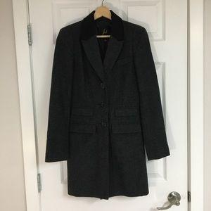 BB Dakota menswear wool coat, size XS.